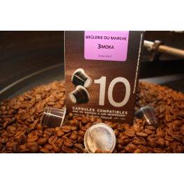 Capsules  Moka Sidamo compatibles Nespresso